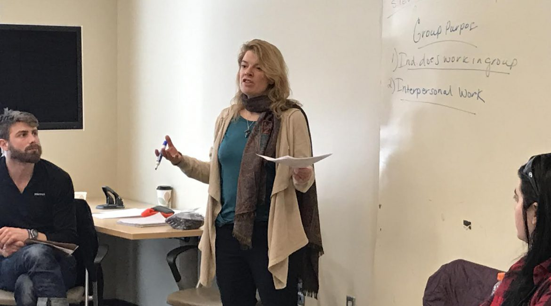 Sandy Teaching Pic